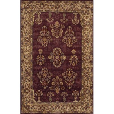 Angel Red Area Rug Rug Size: Rectangle 5 x 76