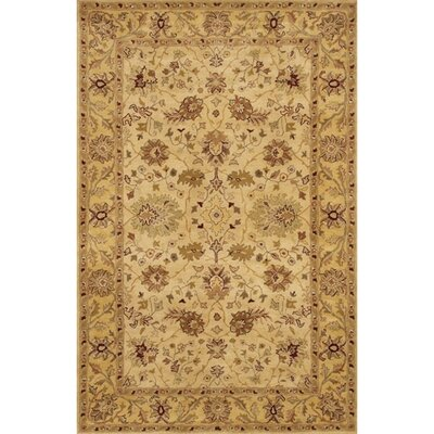 Angel Brown/Tan Area Rug Rug Size: Rectangle 79 x 106
