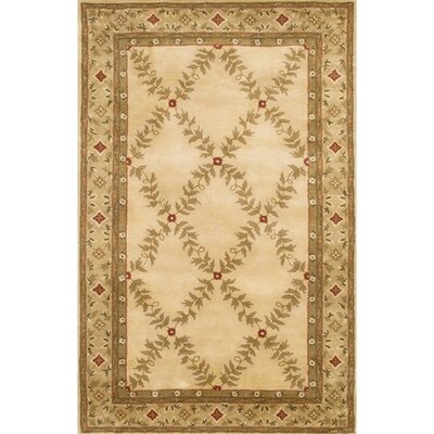 Kingsport Brown/Tan Area Rug Rug Size: Round 7'9
