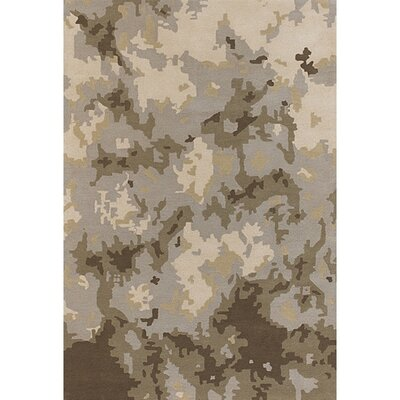 Lindsy Brown/Tan Area Rug Rug Size: Rectangle 2 x 3