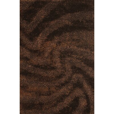 Stockwell Brown Area Rug Rug Size: Rectangle 79 x 106