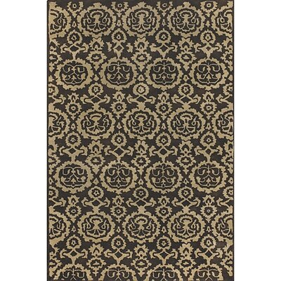 Fresca Brown Area Rug Rug Size: 79 x 106
