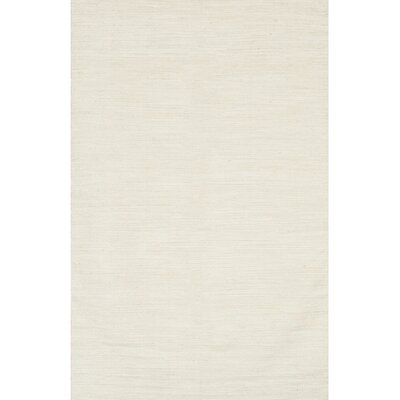 India White Area Rug Rug Size: 79 x 106
