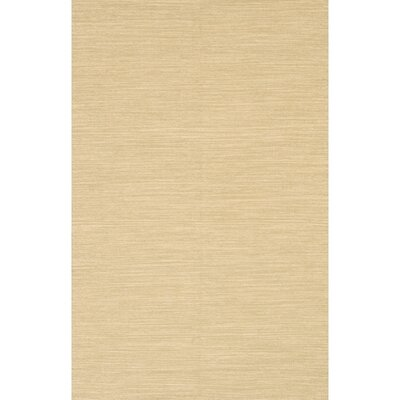India Beige Area Rug Rug Size: 5 x 76