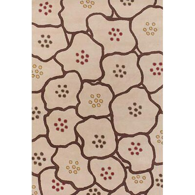 Sidney Brown Area Rug Rug Size: 2 x 3