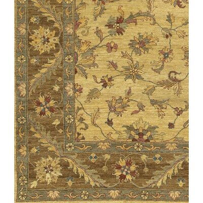 Kamala Brown Area Rug Rug Size: 2 x 3