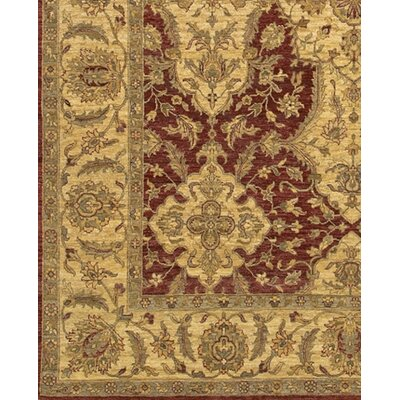 Zambrano Red/Biege Area Rug Rug Size: Rectangle 2 x 3