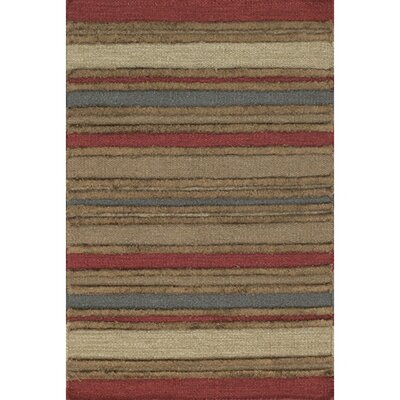 Barbazan Striped Rug Rug Size: 36 x 56