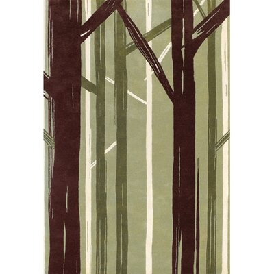 Stoke Bishop Green Area Rug Rug Size: 2 x 3
