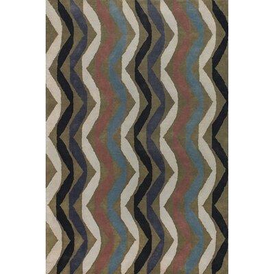 Aurigae Modern Wool Rug Rug Size: 5 x 76