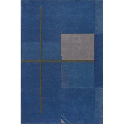 Aurigae Blue Rug Rug Size: 2 x 3