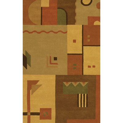 Pylle Hill Abstract Rug Rug Size: Round 79