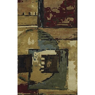 Dawnridge Wool Area Rug Rug Size: 79 x 106