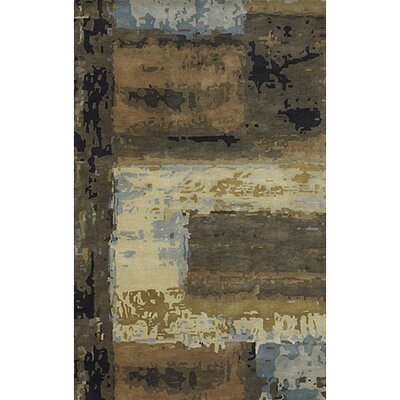 Dawnridge Modern Wool Area Rug Rug Size: 9 x 13
