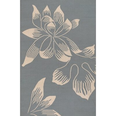 Lockerbie Blue Area Rug Rug Size: 2 x 3