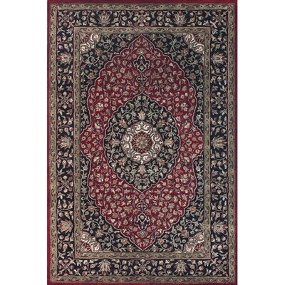 Domingo Red Area Rug Rug Size: 2 x 3