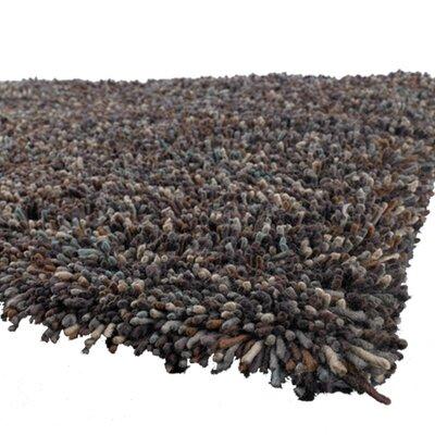 Salzer Black Area Rug Rug Size: Round 79