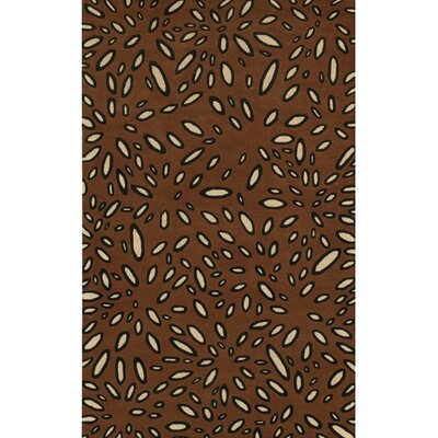 Rain Brown Area Rug Rug Size: Runner 26 x 76