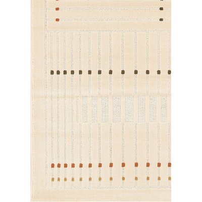 Rita Natural Area Rug Rug Size: 1'11