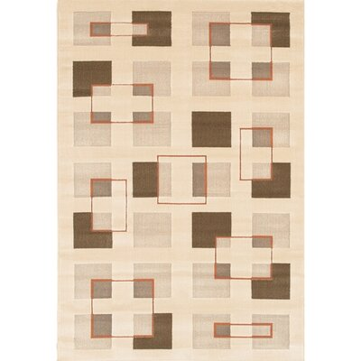 Veliz Natural Geometric Area Rug Rug Size: Rectangle 111 x 37