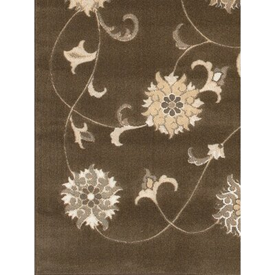 Elderton Brown/Tan Area Rug Rug Size: Rectangle 311 x 57