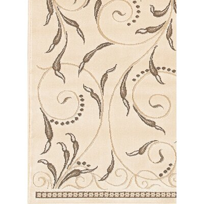 Rita Natural Area Rug Rug Size: 111 x 37