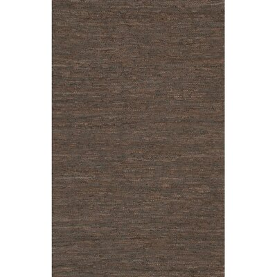 Bardette Brown Area Rug Rug Size: 79 x 106