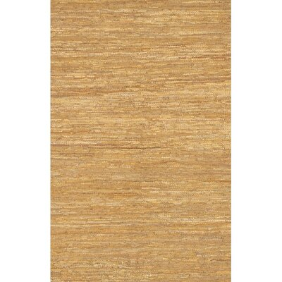 Bardette Tan Area Rug Rug Size: 36 x 56