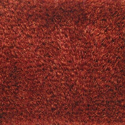 Seschat Red Area Rug Rug Size: 9 x 13