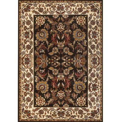 Silver Brown/Tan Area Rug Rug Size: 111 x 37