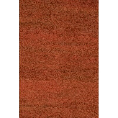 Strata Red Area Rug Rug Size: Rectangle 79 x 106