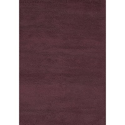 Strata Purple Area Rug Rug Size: Rectangle 5 x 76