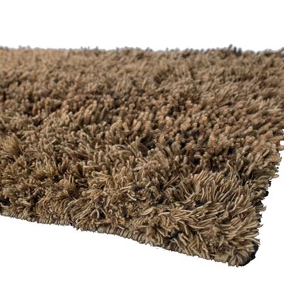 Strata Brown Area Rug Rug Size: 9 x 13