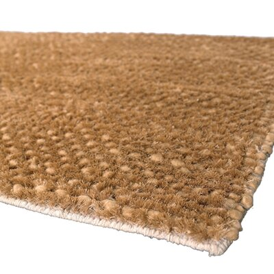 Strata Brown/Tan Area Rug Rug Size: 9 x 13