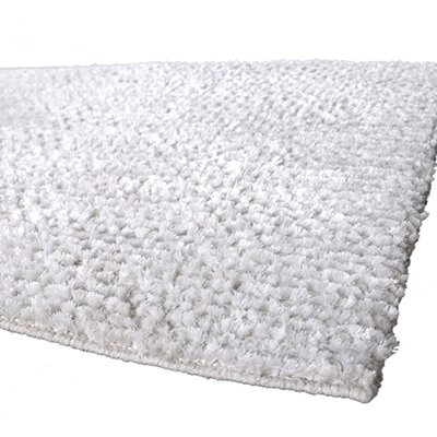 Strata White Area Rug Rug Size: Rectangle 9 x 13