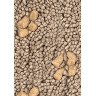 Strata Brown/Tan Area Rug Rug Size: 79 x 106
