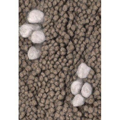 Strata Brown/White Area Rug Rug Size: Runner 26 x 76