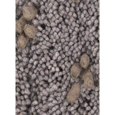 Strata Brown/Gray Area Rug Rug Size: Round 79