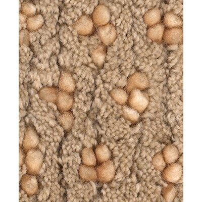 Strata Brown/Yellow Area Rug Rug Size: Rectangle 5 x 76