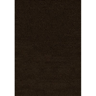 Strata Black Area Rug Rug Size: Rectangle 5 x 76