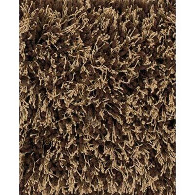 Uni Brown Area Rug Rug Size: Runner 26 x 76
