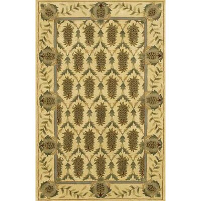 Verona Brown/Tan Area Rug Rug Size: 2 x 3