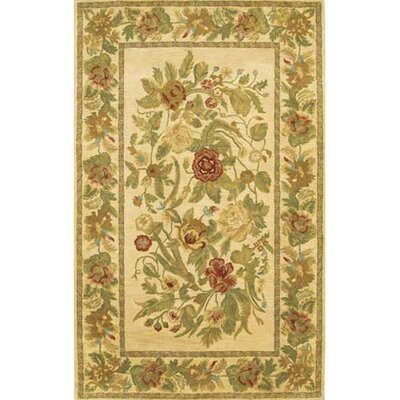 Verona Brown/Tan Area Rug Rug Size: 79 x 106