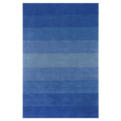 Metro Blue Area Rug Rug Size: 79 x 106
