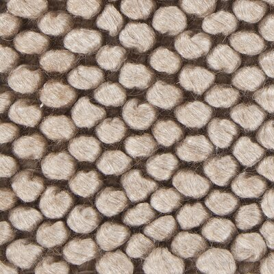 Burton Textured Contemporary Taupe Area Rug Rug Size: 79 x 106