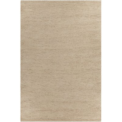 Art Textured Contemporary Natural Area Rug Rug Size: 5' x 7'6