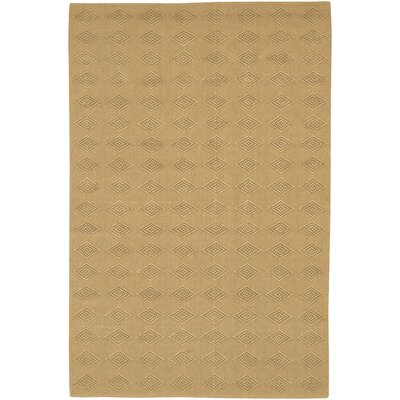 Fayean Contemporary Tan Area Rug Rug Size: 79 x 106