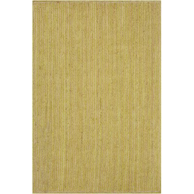 Alyssa Textured Contemporary Lime Green Area Rug Rug Size: 79 x 106