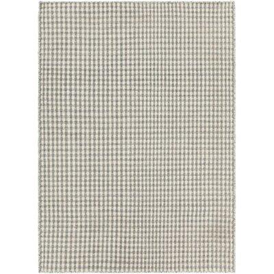 Begley Textured Beige/Gray Area Rug Rug Size: 79 x 106