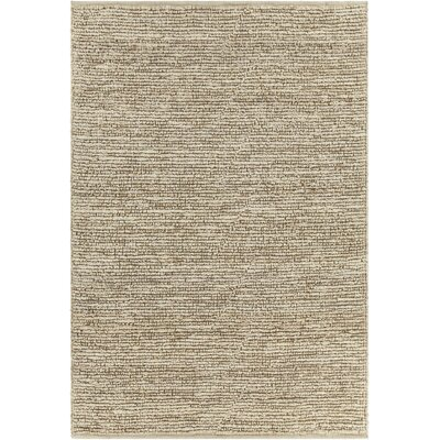 Lilliana Textured Jute Bleached Area Rug Rug Size: Rectangle 5 x 76